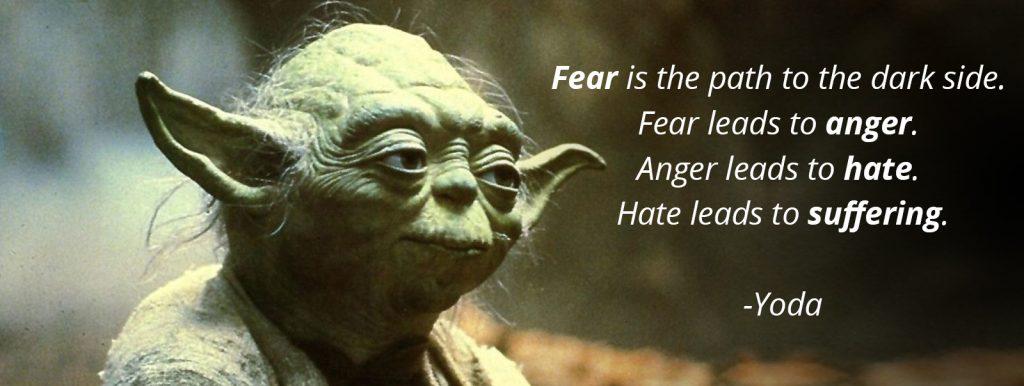 angst leidt tot boosheid